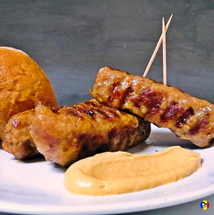 Traditional Romanian BBQ street food – Mititei (Mici)