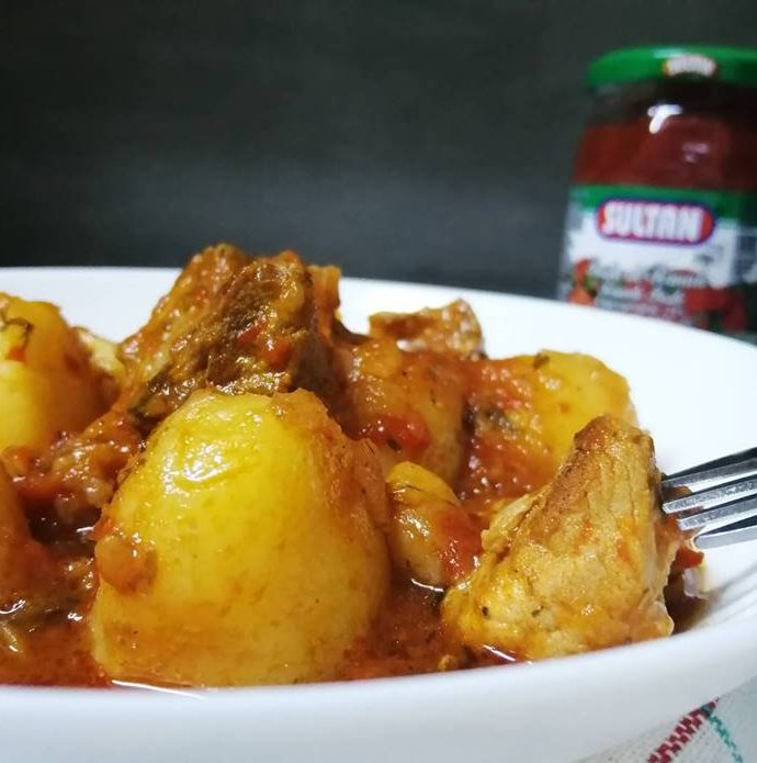 Traditional Pork and Potato Stew